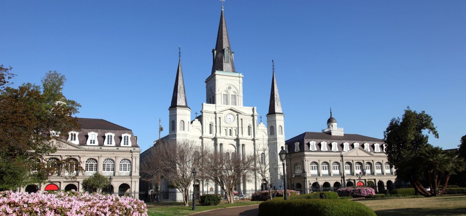 Jackson Square and St. Louis Cathedral Hotels